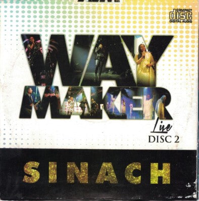 Sinach - Way Maker Live 2 - Audio CD