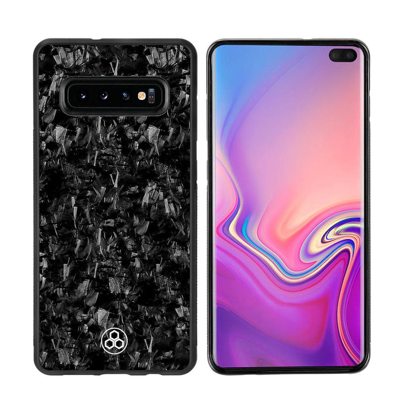 Samsung S10+ Real Forged Carbon Fiber Phone Case | PurSHOCK GRIP