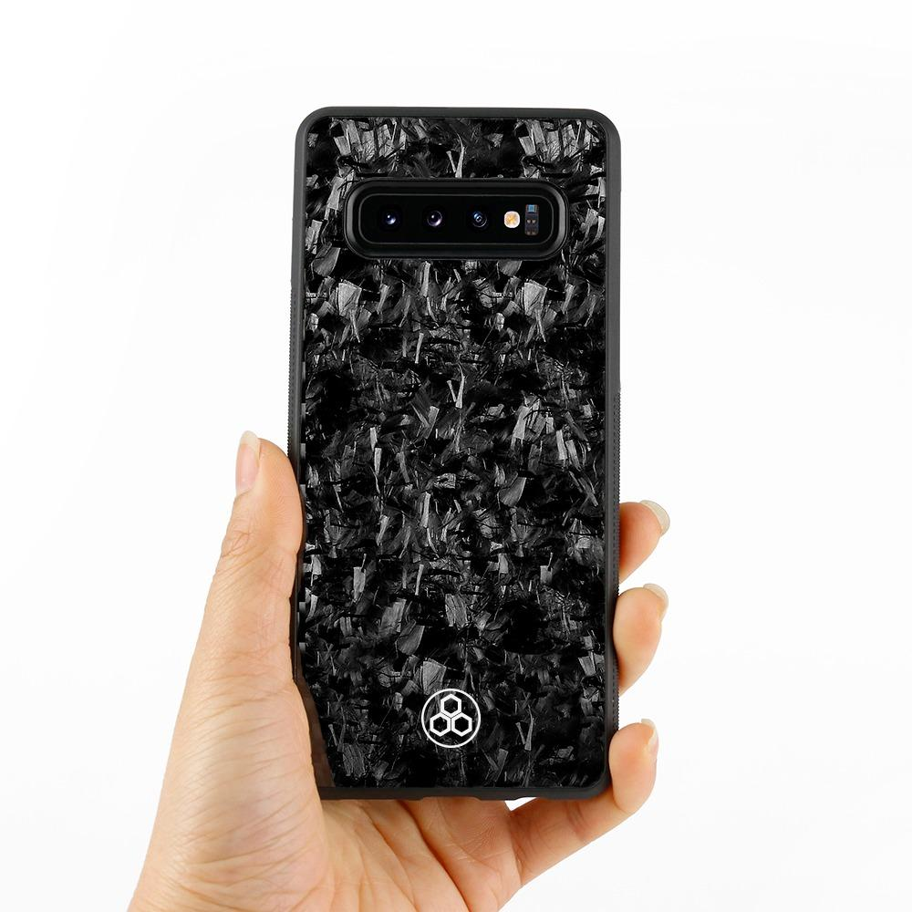 Samsung S10 Real Forged Carbon Fiber Phone Case | PurSHOCK GRIP