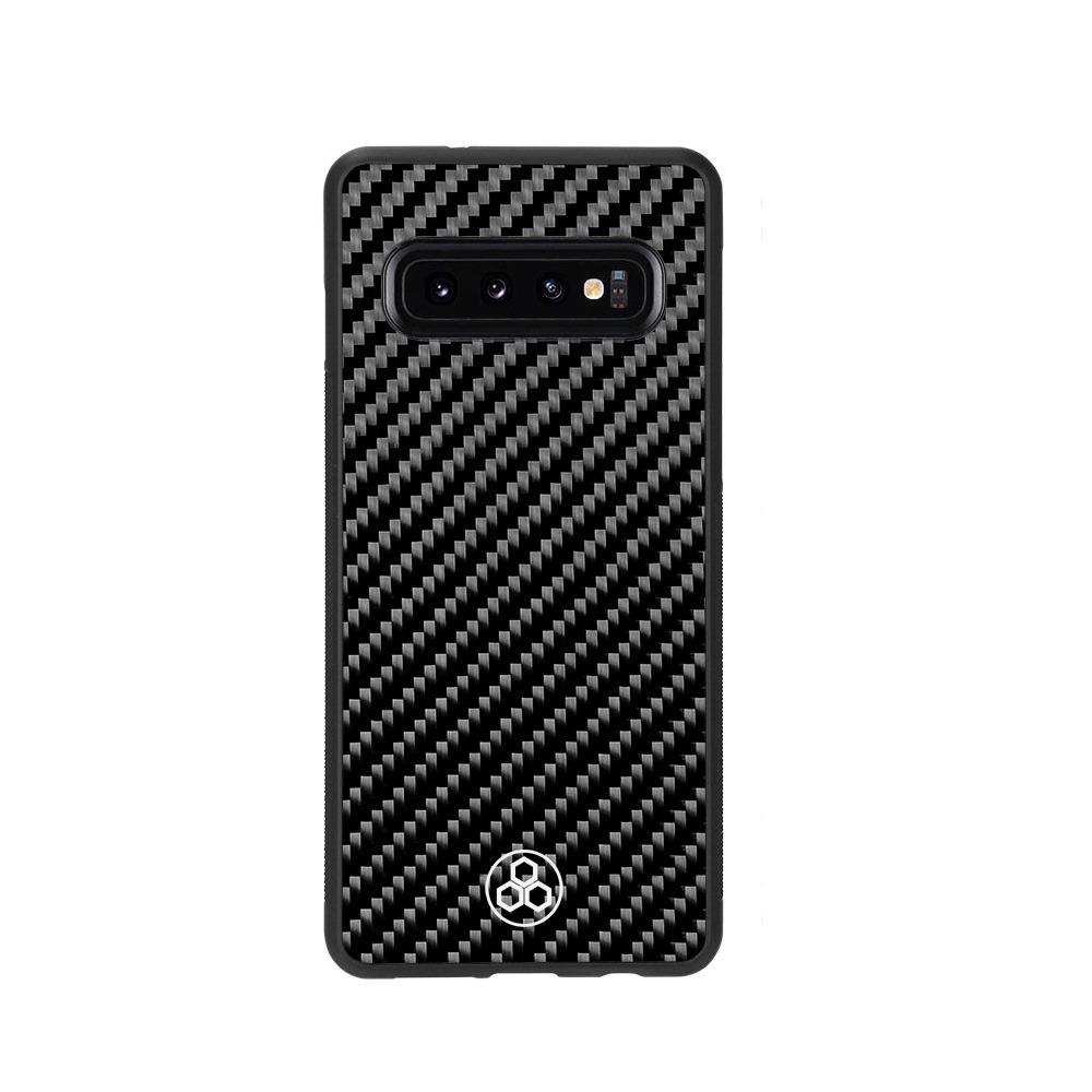 Samsung S10+ Real Carbon Fiber Phone Case | PurSHOCK GRIP