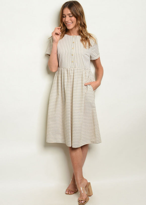 Camryn Striped Dress