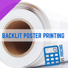 POSTERS & BLUEBACK POSTER PRINTING