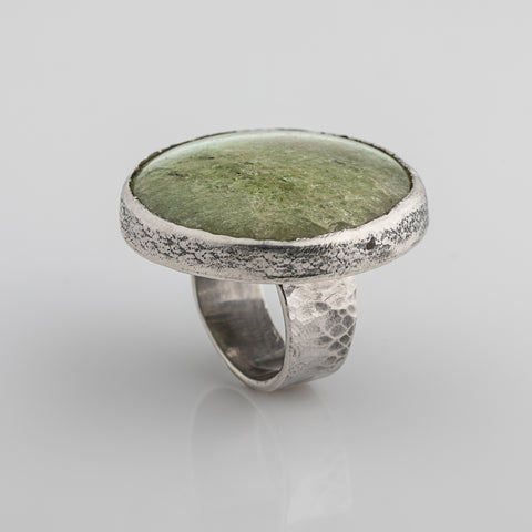 "Silver ring ""Coppice"""