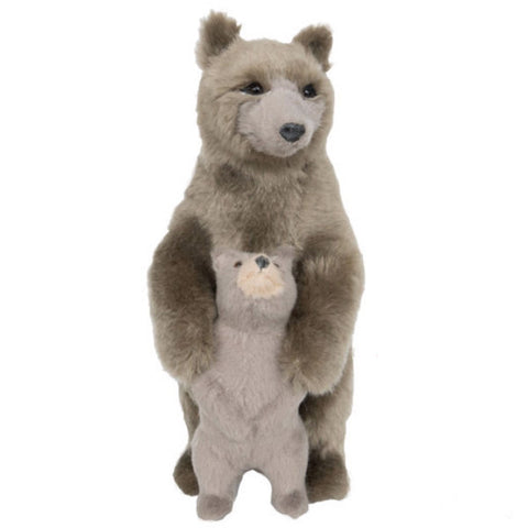 figurine 'furry bear hug'