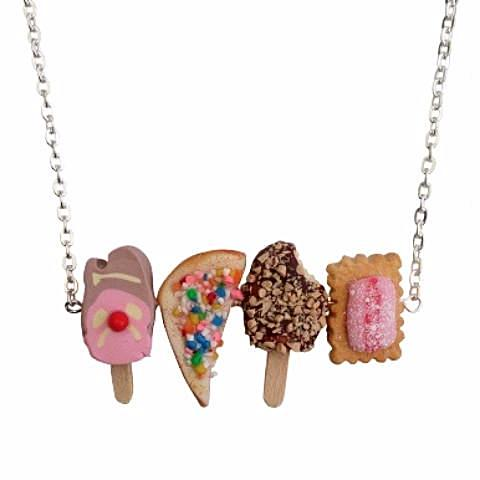 saturday lollipop necklace 'aussie treats'
