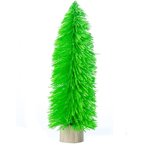acorn & will mini christmas tree 'kitsch green' large