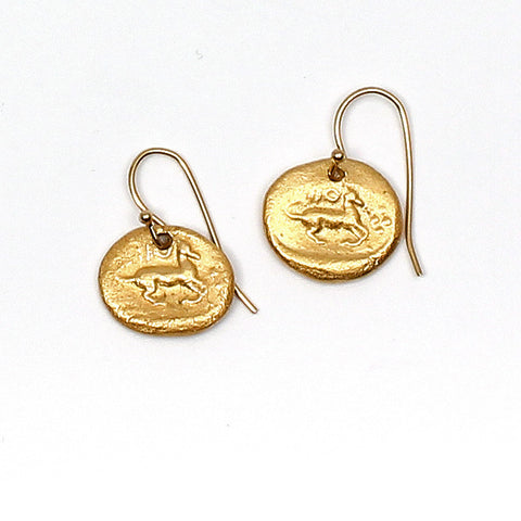 Roman Horse Earrings