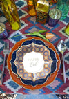 Happy Eid Marrakesh Dessert Plates