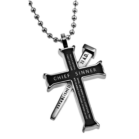 Chief Sinner Timothy Necklace