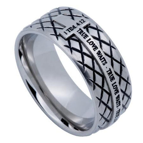 True Love Waits Ring For Men