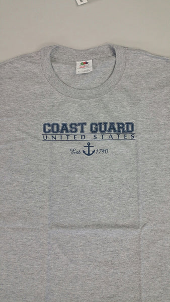 Coast Guard United States Youth Kid's T-Shirt - Star Spangled 1776