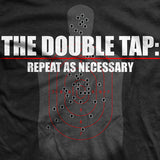 Double Tap T-Shirt- Ranger Up Military Black Tee Shirt - Star Spangled 1776