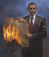 One Nation Under Socialism Lithograph by Jon McNaughton - Star Spangled 1776