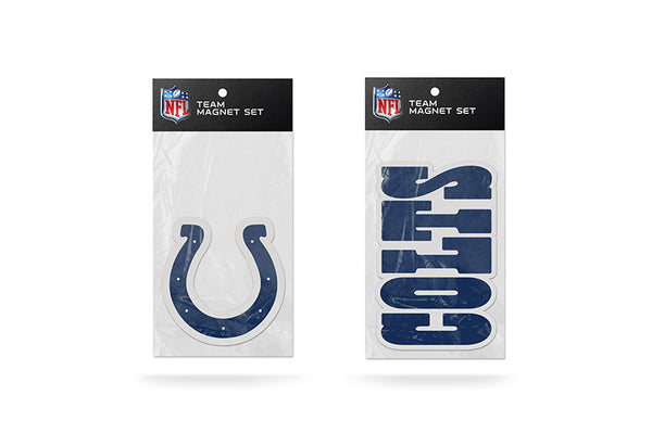 Indianapolis Colts NFL Football 2 Piece Team Magnet Set - Star Spangled 1776