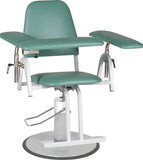 Adjustable Hydraulic Phlebotomy Chair, Upholstered