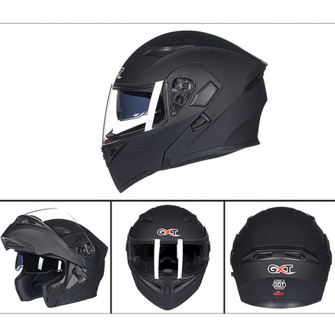 Buy Online  Motorcycle ABS Shell Anti-fog Double-len Inner Sun Visor Safety Helmet Car Accessories - MEGA Discount Online Store Ghana