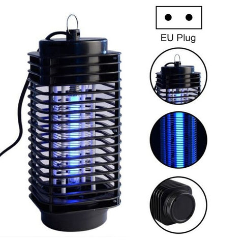 Buy Online  3W Microwave Insect Killer Electric Mosquito Fly Bug Insect Control with Trap Lamp, AC 220V, EU Plug(Black) Insect Repellents - MEGA Discount Online Store Ghana