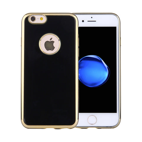 Buy Online  IPhone 7 Electroplating Soft TPU Protective Cover Case (Black) Apple Cases - MEGA Discount Online Store Ghana
