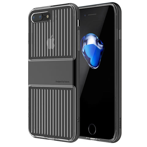 Buy Online  Baseus for iPhone 7 Plus Trunk Shape TPU+PC Combination Protective Case(Black) Apple Cases - MEGA Discount Online Store Ghana