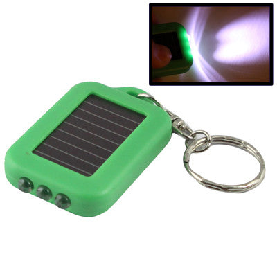 Buy Online  Mini Solar Power Recharge 3 LED Light Key Chain(Green) Power Banks & Solar - MEGA Discount Online Store Ghana