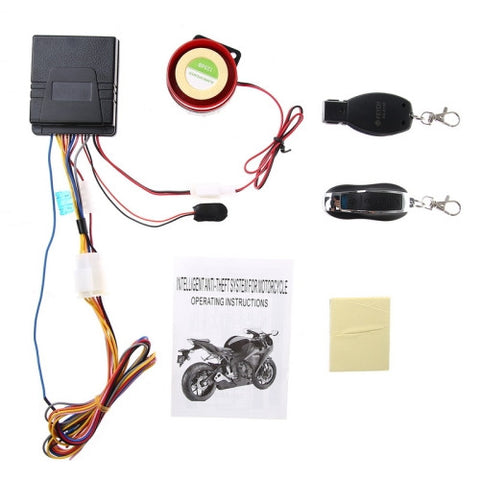 Buy Online  FEYCH Motorcycle Anti-theft Security Alarm System Remote Control Engine Start 12V (Anti-line cutting) Motorcycle Accessories - MEGA Discount Online Store Ghana