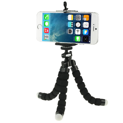 Buy Online  Flexible Octopus Bubble Tripod Holder Stand Mount for Mobile Phone / Digital Camera(Black) Holders - MEGA Discount Online Store Ghana