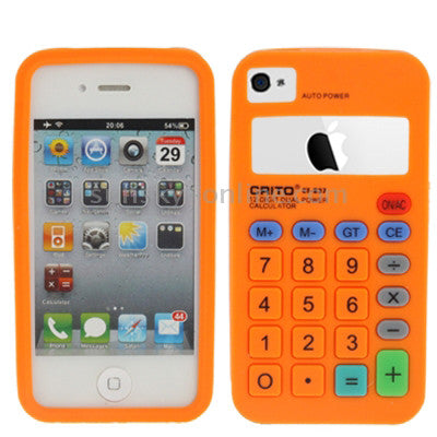 Buy Online  Calculator-style Silicone Cover for iPhone 4S & 4 (Black) Apple Cases - MEGA Discount Online Store Ghana