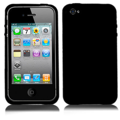 Buy Online  TPU Cover for iPhone 4 & 4S (Black) Apple Cases - MEGA Discount Online Store Ghana