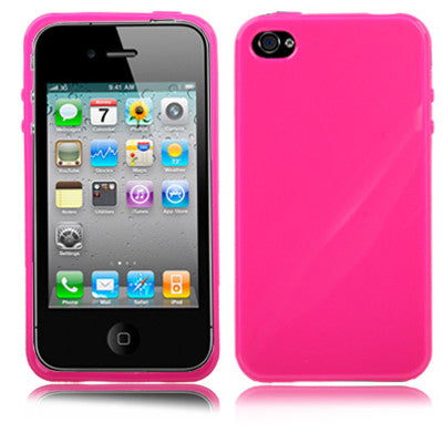 Buy Online  TPU Cover for iPhone 4 & 4S (Magenta) Apple Cases - MEGA Discount Online Store Ghana