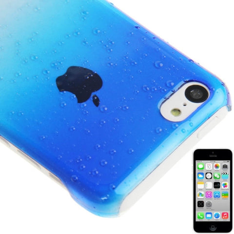 Buy Online  Gradient Raindrop Effect Crystal Protective Cover for iPhone 5 C (Blue) Apple Cases - MEGA Discount Online Store Ghana