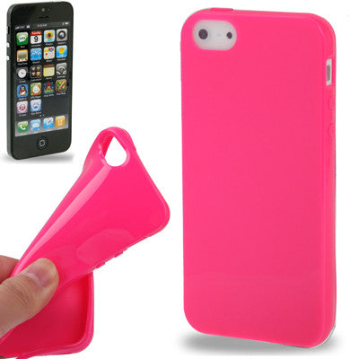 Buy Online  Smooth TPU Cover for iPhone 5 (Magenta) Apple Cases - MEGA Discount Online Store Ghana