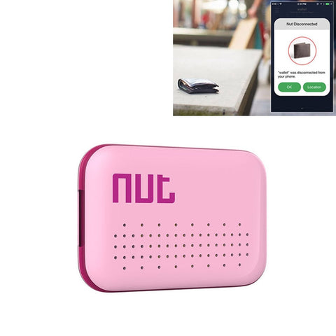 Buy Online  Nut Mini Intelligent Bluetooth 4.0 Anti-Lost Tracking Tag Alarm Patch For Android / Iphone Devices(Pink) GPS & Tracking - MEGA Discount Online Store Ghana
