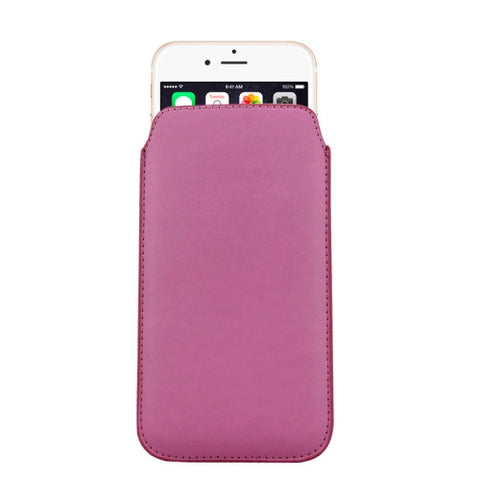 Buy Online  Leather Cover with Lanyard Hole for iPhone 6 Plus, Size: 16.8cm x 9.3cm x 0.2cm(Pink) Apple Cases - MEGA Discount Online Store Ghana