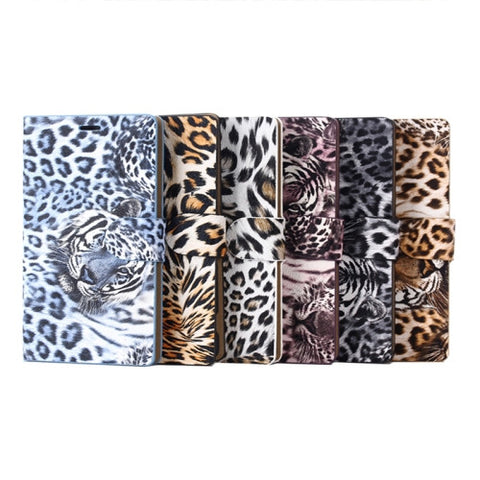 Buy Online  Leopard Pattern Horizontal Flip Leather Case with Card Slots & Holder for Sony Xperia Z3 / D6653 Sony Cases - MEGA Discount Online Store Ghana