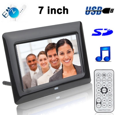 Buy Online  7 inch Digital Picture Frame with Remote Control Support SD / MMC / MS Card and USB (7005B) Camera - MEGA Discount Online Store Ghana