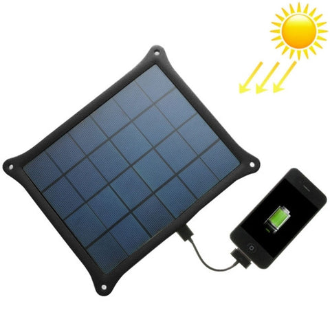 Buy Online  A5W 5W 5.0V/ 1A Solar Panel Charger(Black) Power Banks & Solar - MEGA Discount Online Store Ghana