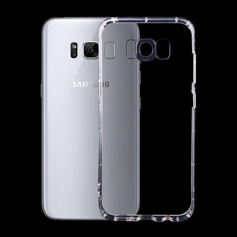 Samsung Galaxy S8+ / G955 Transparent TPU Protective Case(Transparent) Samsung Cases - MEGA Discount Online Store Ghana