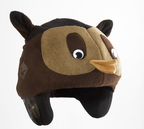Owl Helmet Cover - Girls & Boys , Child - Tail Wags Helmet Covers Inc, Tail Wags Helmet Covers  - 1
