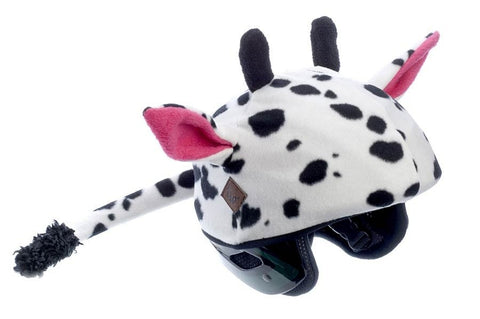 Cow Helmet Cover - Adults , Adult - Tail Wags Helmet Covers Inc, Tail Wags Helmet Covers