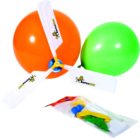 Balloon Helicopter- Set of 10