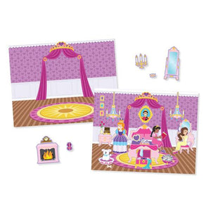 Melissa & Doug, Melissa & Doug - Reusable Sticker Pad, Princess Castle, Toys