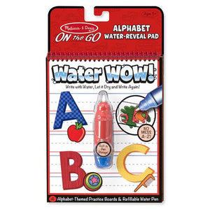Melissa & Doug, Melissa & Doug - Water WOW! Alphabet, ON the GO Travel Activity, Toys