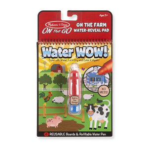 Melissa & Doug, Melissa & Doug - Water WOW! Farm, ON the GO Travel Activity, Toys