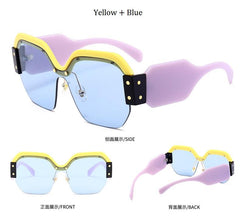 Tammy Multi Color Rimless Sunglasses