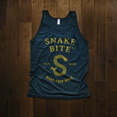 Snake Bite brand tank top for men