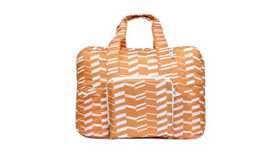 Travel Duffel Bag - Zig Zag Orange