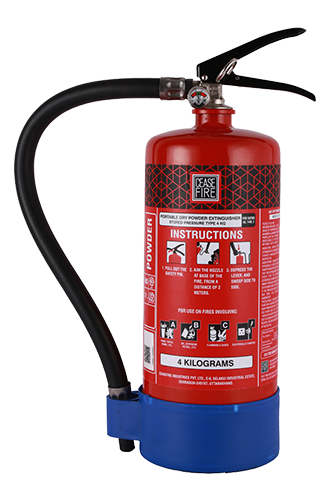 Ceasefire ABC Powder MAP90 Fire Extinguisher (4Kg)