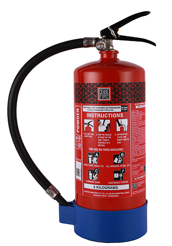 Ceasefire ABC Powder MAP90 Fire Extinguisher (6Kg)