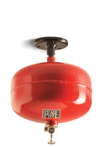 Ceasefire Automated Modular Fire Suppression System (HCFC123 Based) - 10 Kg