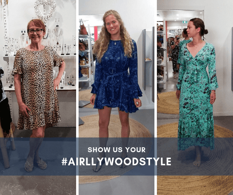 get featured on our instagram by tagging #airllywoodstyle